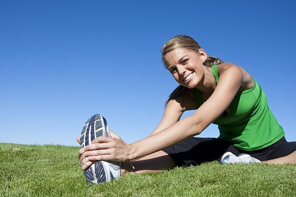Happy Healthy Lifestyle - Stretching Before Run