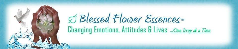 Blessed Flower Essences Header Image Logo