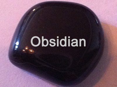 Obsidian Healing Crystal Image