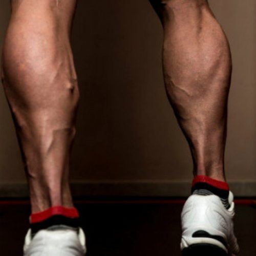 Calf Muscle Pain or Strain Healing & Recovery Image