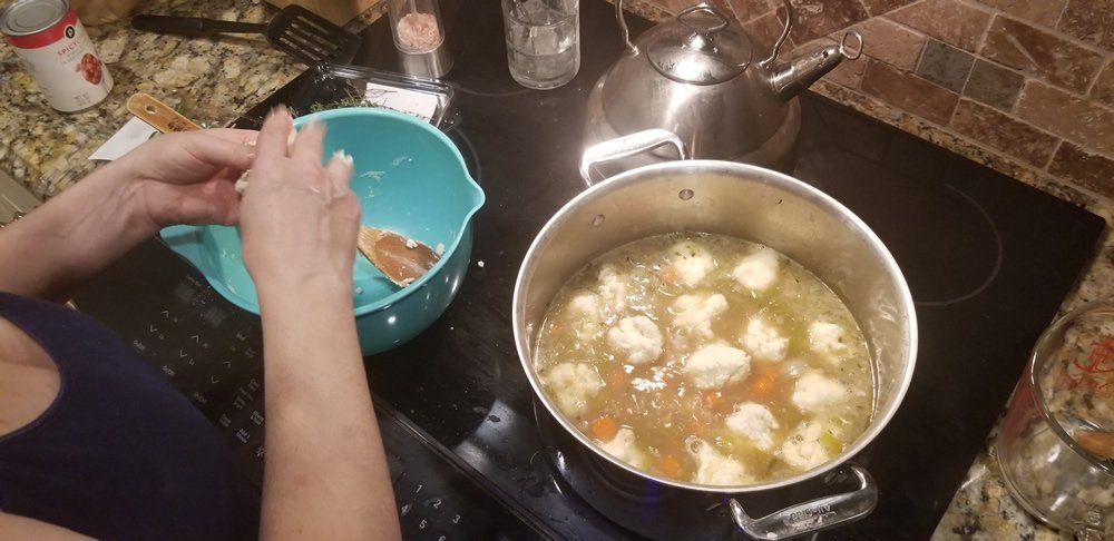 Cooking Gluten Free Old Fashioned Chicken & Dumplings Image