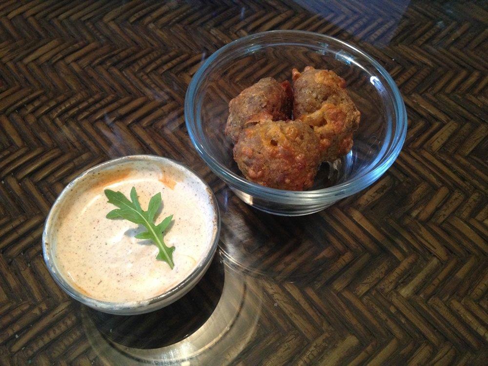 Spicy Keto Sausage Balls Recipe Image