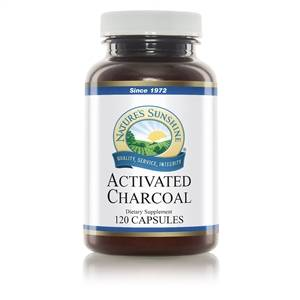 Activated Charcoal Product Nature's Sunshine
