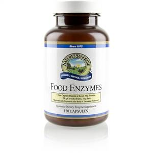 Food Enzymes Product Nature's Sunshine
