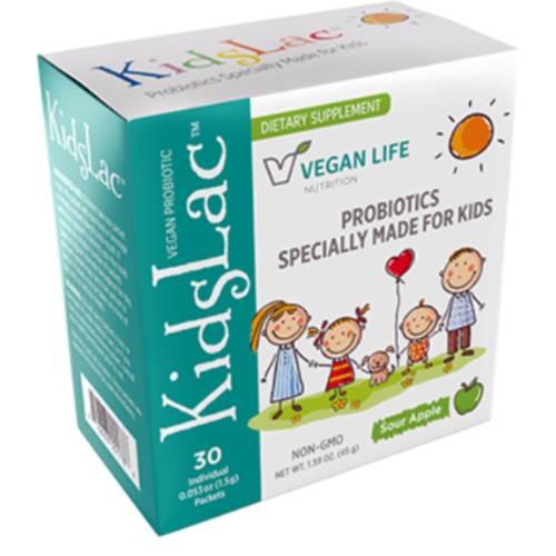 KidsLac Children's Vegan Probiotic Powder Product Image for UPC 816663001786