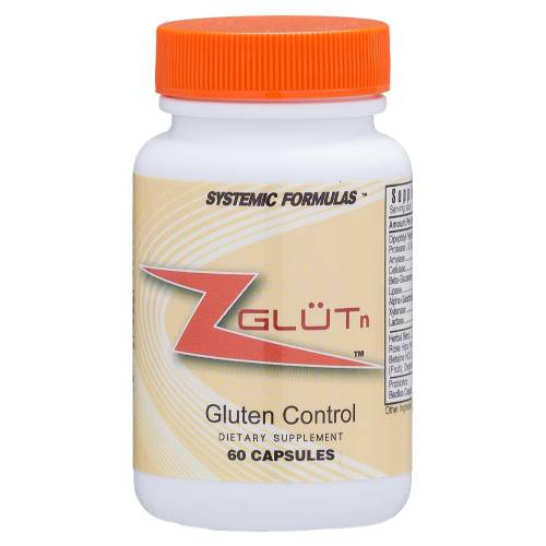 ZGLUTN Gluten Control Supplement Systemic Formulas Bio Basic 697 UPC 635585069717