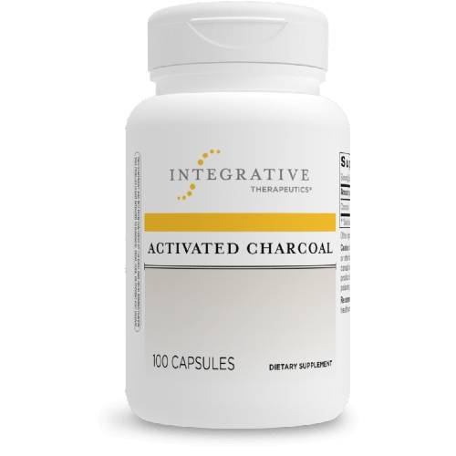 Activated Charcoal Supplement Integrative Therapeutics UPC 871791706569 Product Image