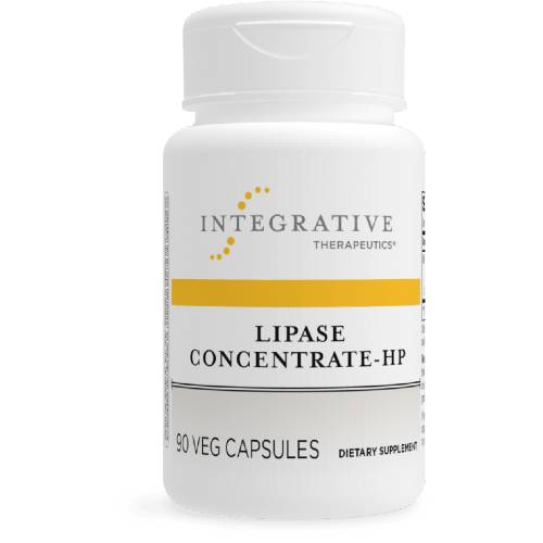 Lipase Concentrate High Potency Fat Digestive Enzymes Integrative Therapeutics UPC 871791002760