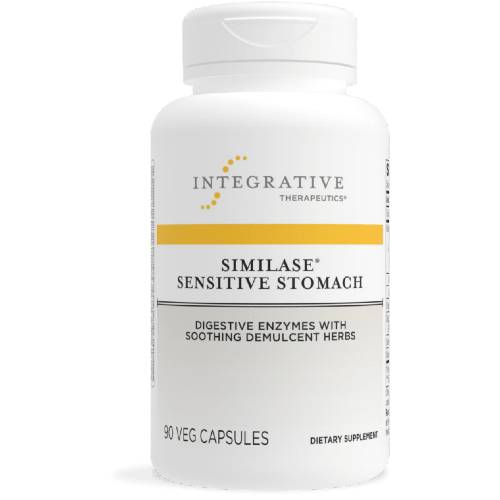 Similase Sensitive Stomach Digestive Enzymes with Soothing Herbs Integrative Therapeutics UPC 871791001251