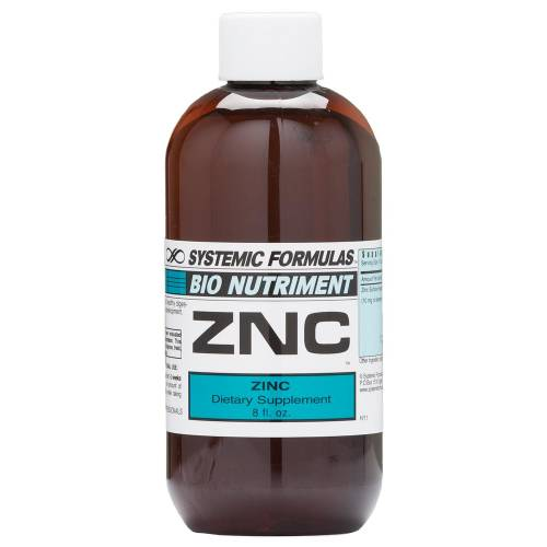 ZNC Liquid Zinc Chelate Systemic Formulas 195 Bio Nutriment UPC 635585019514