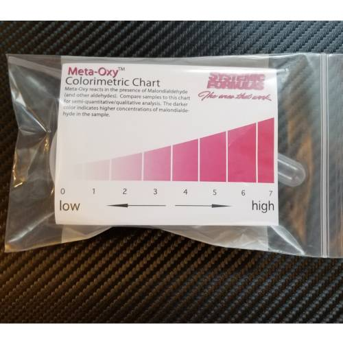 Meta-Oxy Free Radicals Oxidation Test By Systemic Formulas for Home Testing